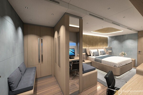 Step inside the heart of our flagship – OCEAN ECO 90 Owner Cabin