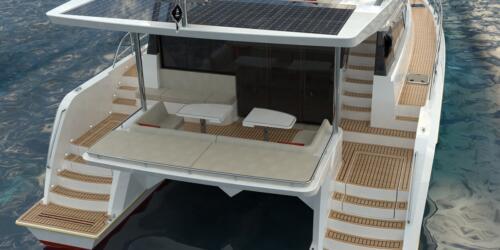 Solar Electric Yachts Sunpower Yachts 44 AFT Table-5