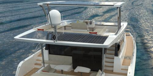 Solar Electric Yachts Sunpower Yachts 44 AFT Table-6