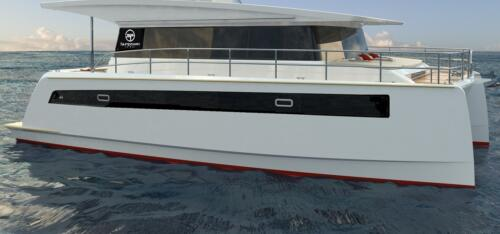 Solar Electric Yachts Sunpower Yachts 44 STB-Side-1