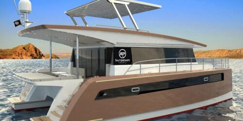 Solar Electric Yachts Sunpower Yachts sy44 Ginger-1